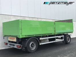 drop side full trailer Ackermann 01.2022 Pritschenanhänger PA-F 18 7.1E BPA+ Baustoffanh. 2012