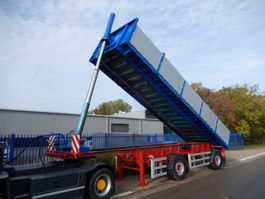 tipper semi trailer Renders ROL12.18NA 2 As Kipper - Oplegger Open - Achterwaards - Belgisch kenteken 2007