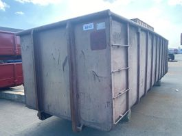 open top shipping container Vernooy Gebruikte 30m3 Afzetcontainer 8612