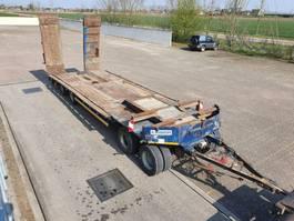 flatbed semi trailer Kaiser R4004F 1999