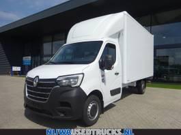 closed box truck Renault Master T35 165 nieuw Not registered + Laadklep 2021