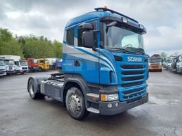 cab over engine Scania R440 euro 5 - retarder- belgian truck- very good state tipper hydraulic 2012