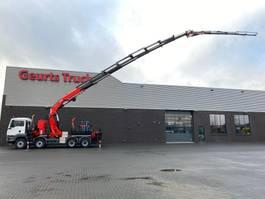 crane truck MAN TGS 35 8X4 BL + FASSI + JIB KRAAN/KRAN/CRANE/GRUA 2014