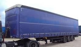 Planenauflieger Schmitz Cargobull Cargobull 3 achs Tautliner Coil 385 Lift Portal verzinkt 2014