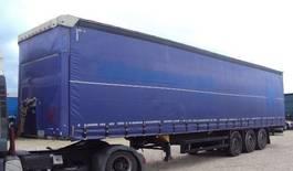 sliding curtain semi trailer Schmitz Cargobull Cargobull 3 achs Tautliner Coil 385 Lift Portal verzinkt 2014