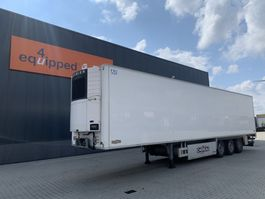 refrigerated semi trailer Chereau TOP, Carrier Vector 1550, FRC:09-2023, SAF +Intradisc 2011
