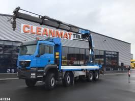 crane truck MAN TGS 41 8x8 HMF 60 ton/meter laadkraan 2013