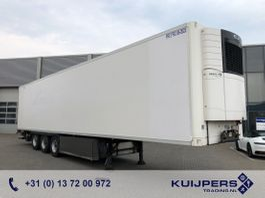 refrigerated semi trailer LAMBERET / 3 as BPW / Duo Temp IsoBox / Blumen-Flowers / Carrier / Laadklep 2013
