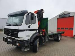 container truck Mercedes-Benz 2024 Manual / Steelsuspention  + PK16000 1998