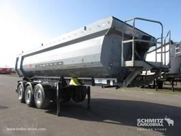 tipper semi trailer Schwarzmüller Auflieger Kipper Stahlrundmulde 23m³ 2016