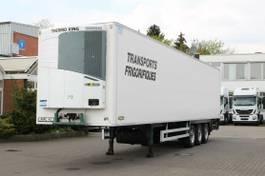 refrigerated semi trailer Chereau Thermo King SLX 200 /Trennwand/2,6h/SAF 2009