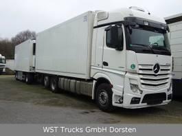 refrigerated truck Mercedes-Benz 2542 Schmitz Rohrbahn Carrier U1100 2015