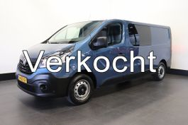 closed lcv Renault Trafic 1.6 dCi T29 L2H1 Dubbele Cabine - Airco - Cruise - PDC - € 12.950,- Ex. 2017
