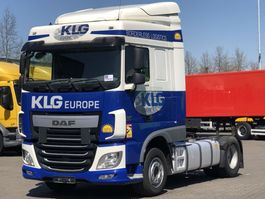 cab over engine DAF 106 XF 440 EURO 6 INTARDER SPACE CAB 2014