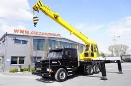 all terrain cranes Scania T142 E , 6x4 , Hercules RK80 , 17t / 31m , roto , sleep cab 1988