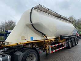 tank semi trailer semi trailer Feldbinder EUT 40.3 + TANK 40.000 LITER BULK 2001