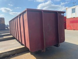 open top shipping container Vernooy Gebruikte 30m3 Afzetcontainer 8611