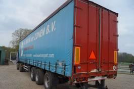 sliding curtain semi trailer Pacton 3-assige oplegger 2000