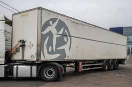 closed box semi trailer Fruehauf CAISSE FOURGON 2006