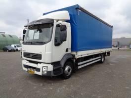 sliding curtain truck Volvo FL240 , EEV, 345 TKM (!), NL Truck, TOP!! 2013