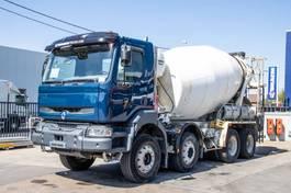 concrete mixer truck Renault Kerax 420 DCI+ BETON MIXER STETTER 2006