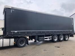 sliding curtain semi trailer Lecitrailer LTP-3ESLSL-XL , 11 meter schuifzeil met schuifdak , zo goed als NIEUW , 2019