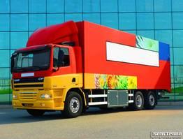 closed box truck DAF FAN CF85.360  EURO 5  9 TONS VOORAS  GESTUURDE NALOOPAS  TOP STAAT 2006