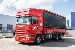 tilt truck Scania R380 -6x2 + Intarder 2004
