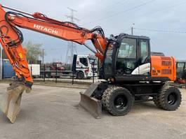wheeled excavator Hitachi ZX 140 W-5 2016