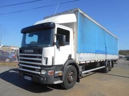tilt truck Scania 114L 380 2002