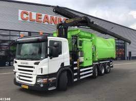 garbage truck Scania P320 Palfinger 23 ton/meter laadkraan 2011