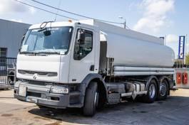 tank truck Renault Premium 320 DCI-6x2-4+MAGYAR 18.000 L(5comp.) 2006