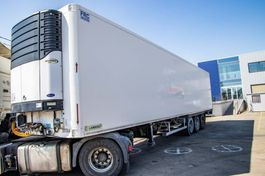 refrigerated semi trailer LAMBERET + CARRIER MAXIMA 1300 2008