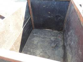 swap body container KAR en laadbakje voor tractor