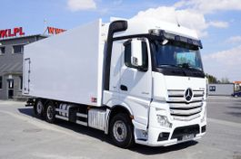 refrigerated truck Mercedes-Benz Actros 2545 , E6 , 6X2 , 18 EPAL , heigh 2,6m , side door , reta 2017