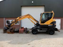 wheeled excavator Hyundai 55-9 2012