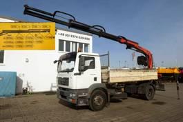 tipper truck > 7.5 t MAN TGM 18 4x2 2-Achs Kipper Heckkran PK 120013 2007