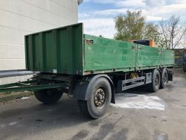 drop side full trailer Schwarzmüller T203 Baustoff BPW 8.25m 2009
