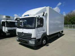 closed box truck Mercedes-Benz Atego 816 Koffer 6 m LBW MBB 1 to.*Innen 2,55 m 2017