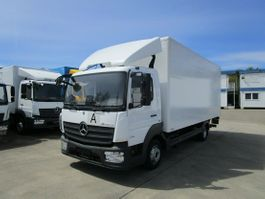 closed box truck Mercedes-Benz Atego 816 IV Koffer 6,10 m LBW MBB 1 to.*AHK 2017