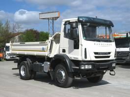 tipper truck > 7.5 t Iveco EuroCargo 150 E 28/4x4 2-Achs Allradkipper Allra 2013