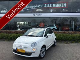 hatchback car Fiat 500 1.2 Lounge (auto met weinig kilometers) (airco - lmv - radio/cd/mp3/usb/... 2011