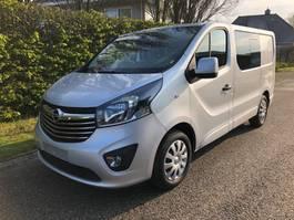 closed lcv Opel Vivaro L1H1 1.6 CDTI 125 pk Edition Dubbelcabine , NAVI , Camera , 2019