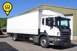 closed box truck Scania P230 4x2 2013
