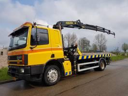 tow-recovery truck DAF CF 65 .220 Sliding platform, crane, liftbar, winch 1994