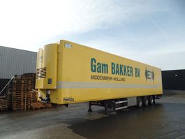 refrigerated semi trailer LAMBERET RO-16-27 PC / TRS / Dhollandia 2000Kg 2011