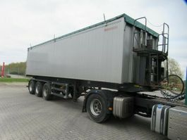 tipper semi trailer Reisch 50 cbm Hinterkipper, Lift,Kornschieber,Staubsack 2007