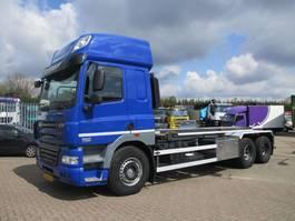 container truck DAF CF 510 85 CF 510 EURO 5 FULLSTEELSUSPENSION HOLLAND TRUCK 2012