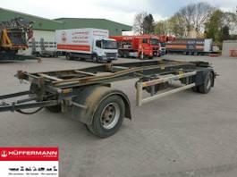container chassis trailer Möslein 2-achs Abrollanhänger / RAH 18 / HSA 20.70 LT 2015