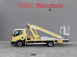 work platform lcv Nissan Cabstar Multitel 160 ALU DS 16 Meter! 2011